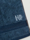 Serviette visage couleur denim - Serviettes -Ametsuchi