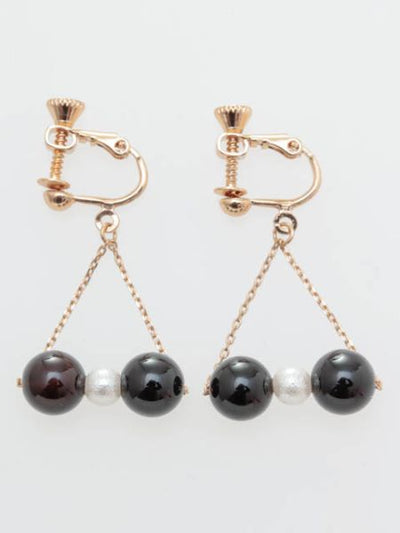 Kelahiran Anting Simpul Tiga Potong -Earrings-Ametsuchi