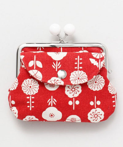 Eastern Europe Inspired Twin GAMAGUCHI Purse-Ametsuchi