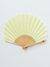 Linen SENSU Foldable Fan