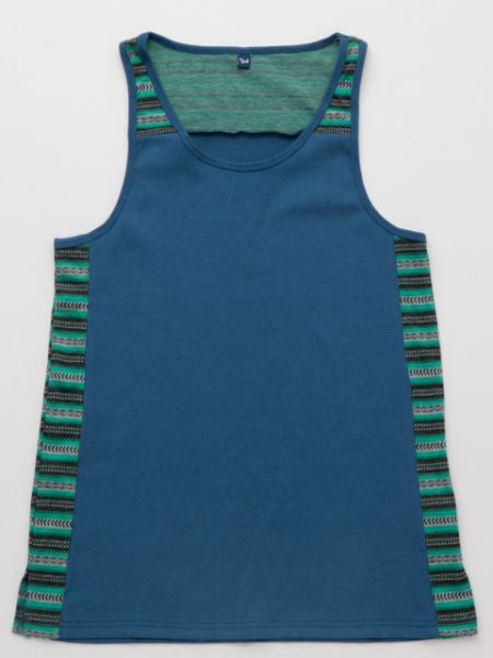 Bi-color Men's Tank Top-Ametsuchi