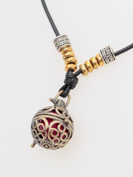 Bell Healing Necklace -Necklaces-Ametsuchi