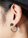 Lizard metal earrings for one ear 1pcs-Earrings-Ametsuchi