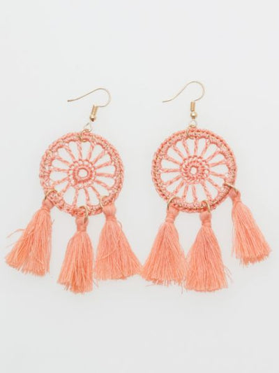 Dreamcatcher Earrings -Earrings-Ametsuchi