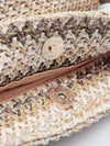 Knitted Paper Tote Bag-Bags & Purses-Ametsuchi