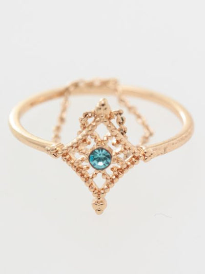 Birth Month Color Thin Ring -Rings-Ametsuchi
