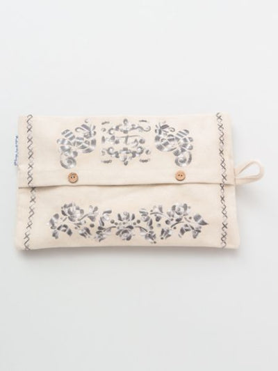 Hungarian embroidery style tissue paper case-Home Decor-Ametsuchi