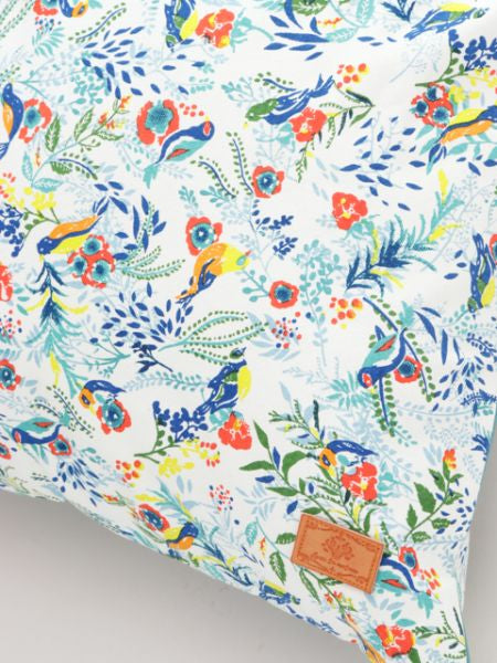 Botanical Bird Pillow Cover-Ametsuchi