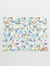 Botanical Bird Pattern Placemat-Ametsuchi