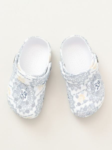 OM Pattern EVA Kids Clogs