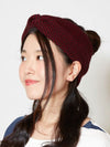 Geom Pattern Knit Hair Band-Ametsuchi