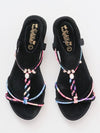 Bunte String Sandalen -Shoes-Ametsuchi