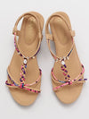 Colorful String Sandals-Ametsuchi