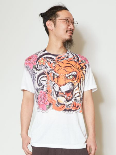 Estampado animal Camisetas y camisetas para hombreAmetsuchi