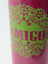 Mexican Amigo Stainless Water Bottle -Kitchen Goods-Ametsuchi