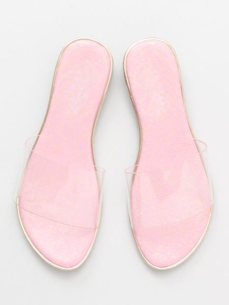 Corak Tile Sole Clear Sandals-Shoes-Ametsuchi