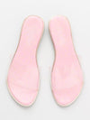 Tile Pattern Sole Clear Sandals-Shoes-Ametsuchi