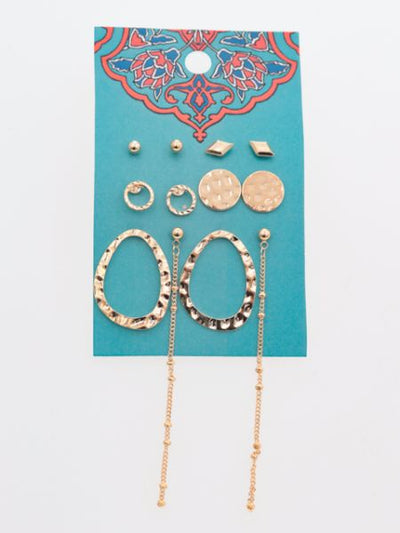 Bohemian Earring Set -Earrings-Ametsuchi