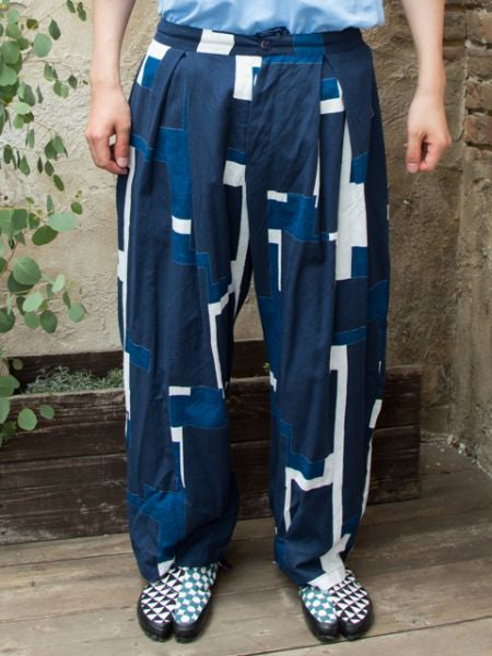 Pantalon bleu Japon