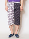 Edo Pattern Cropped Pants-Pants & Shorts-Ametsuchi