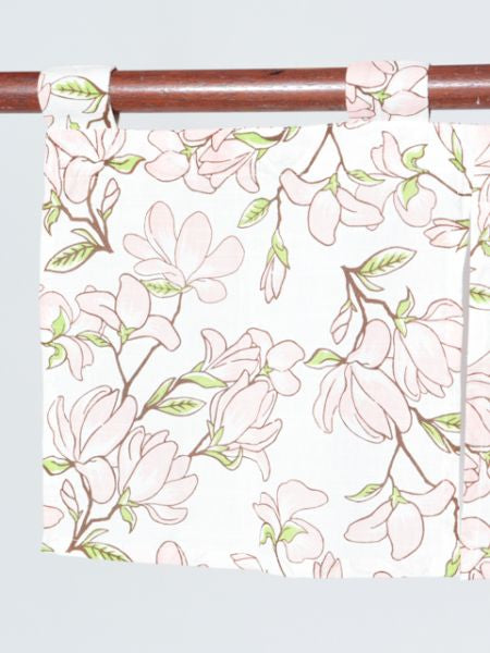 Home Décor Flowery NOREN Café Curtain