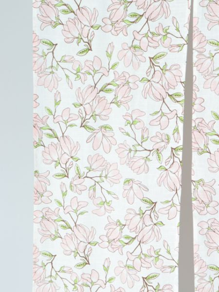 Home Décor Flowery NOREN Slit Curtain