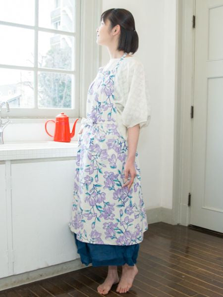Japanese Flower Apron