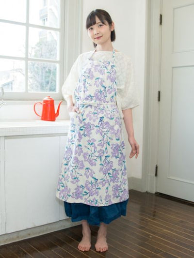 Japanese Flower Apron-Others-Ametsuchi