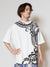Tribal Pattern Oversized T shirt