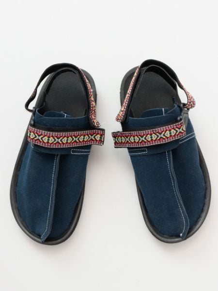 Trim Belt Sabot Sandals