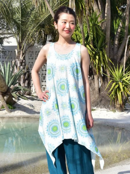 Mandala Sleevless Dress