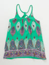African Pattern Kid's Sleeveless Camisole Dress 110cm-Clothing-Ametsuchi