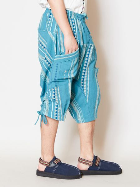 Geometric Pattern Men's Boho Shorts