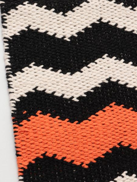 Handwoven African Geometric Pattern Runner Table