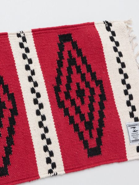 Handwoven African Geometric Pattern Place Mat