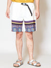 Antique Cloth Inspired Shorts-Pants & Shorts-Ametsuchi