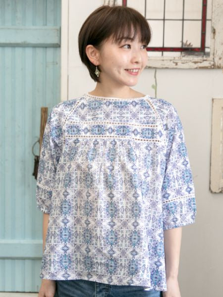 Andalusia Top-Shirts & Blouses-Ametsuchi