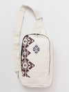 Canvas Cotton One Shoulder Bag-Ametsuchi