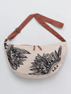 Tribal Pattern Printed Crescent Moon Bag-Bags & Purses-Ametsuchi