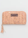 Faux Cork Long Wallet-Ametsuchi
