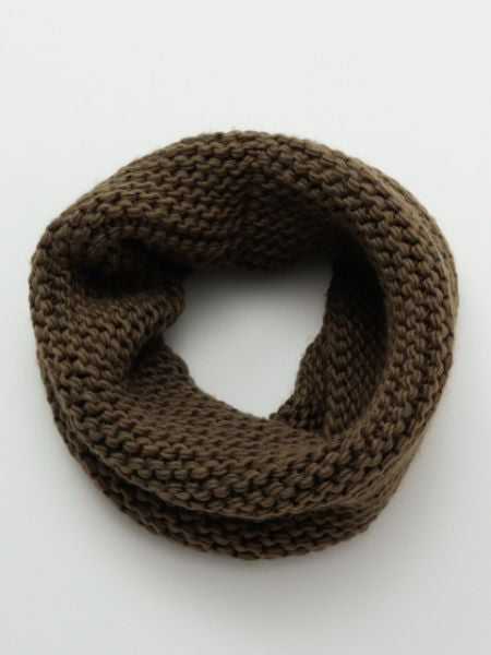 WA-Modern Knitted Snood-Scarves-Ametsuchi