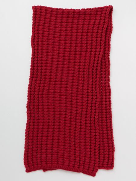 Chunky Knitted Long Shawl-Scarves-Ametsuchi