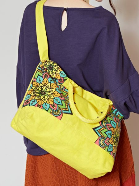 Mandala Printed Shoulder Bag
