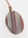 Wooden Charm Necklace -Necklaces-Ametsuchi