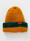 Nepal Hand Made Bi Color Kid's Knitted Beanie -Accessories-Ametsuchi