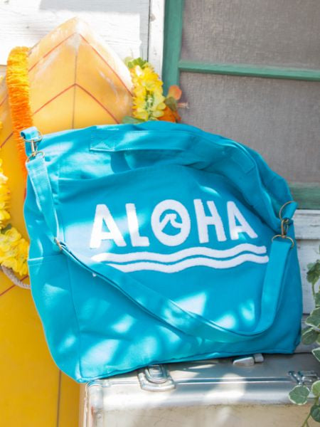 Aloha 3D Embroidered Shoulder Bag
