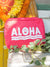 Aloha 3D Embroidered Pouch