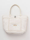 Day to Aloha Faux Mouton Tote Bag-Ametsuchi