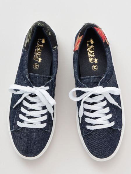 Zapatillas Aloha Denim Style x Botanical Pattern