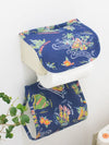 Vintage Hawaiian Style Toilet Paper Holder Cover -Bathroom-Ametsuchi